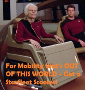 StarFleet Scooter - 24th Century Mobility