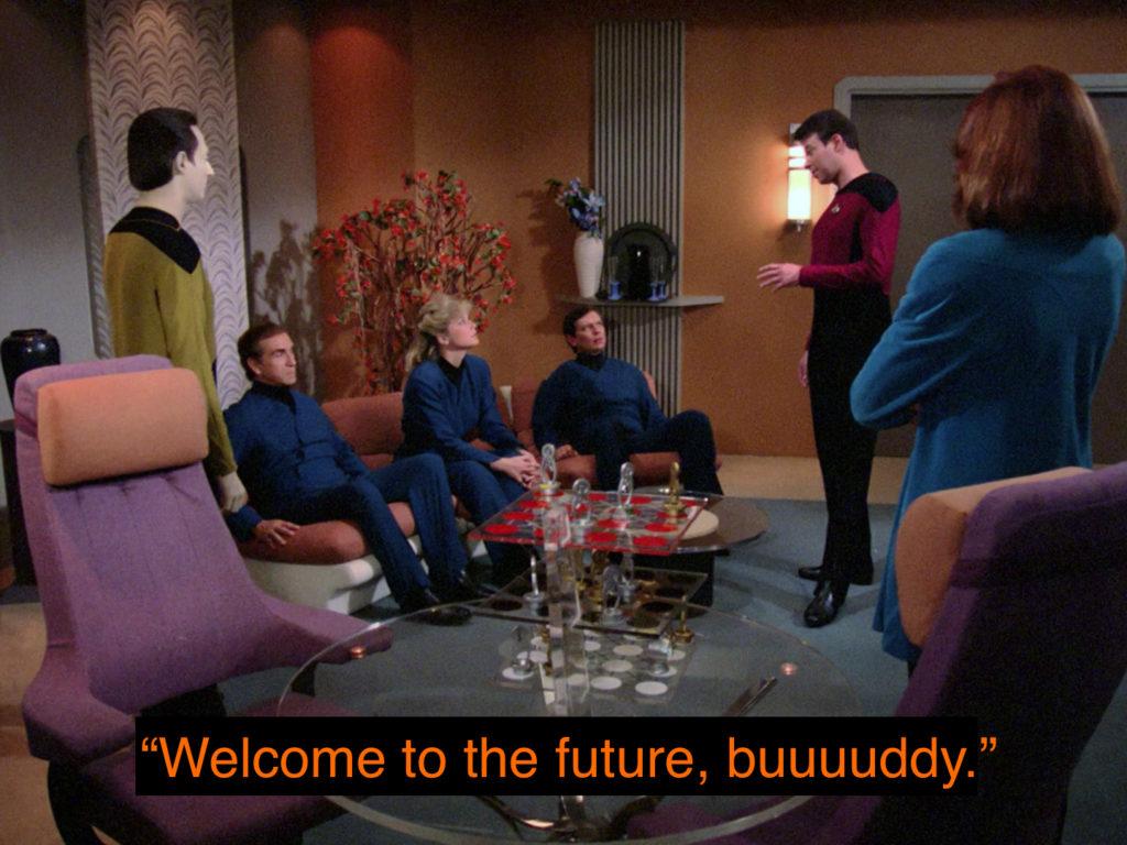 Riker future